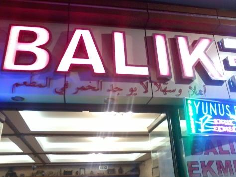 Restorant Yunus Balik
